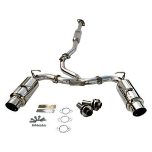 Invidia N1 Exhaust BRZ/FRS/86 (13-19) Polished or Titanium Blue Tips