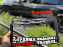 Load image into Gallery viewer, Supreme performance NA plate frames