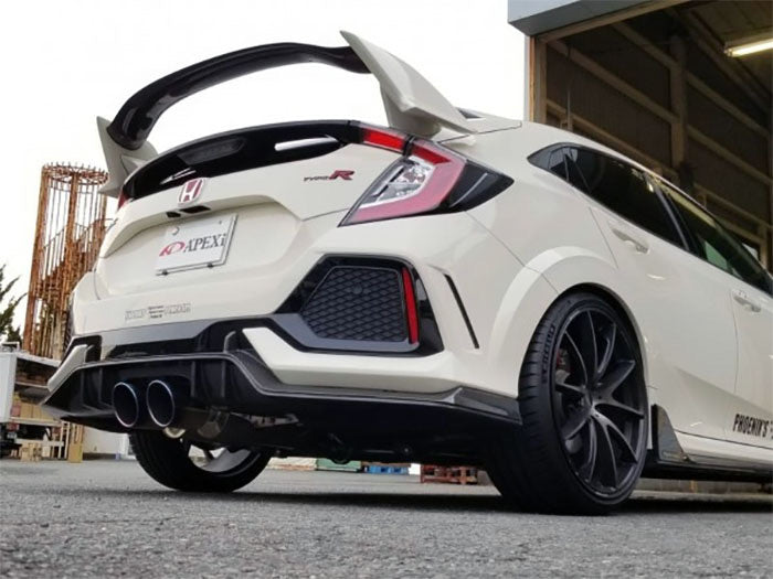APEXi N1-X Evolution Extreme Exhaust System for 2018 Honda Civic