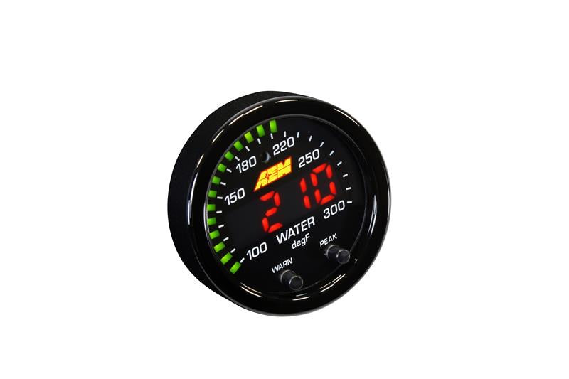 AEM X-Series Temperature 100-300F Gauge Kit