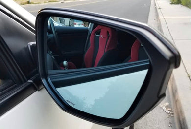 SPOON BLUE WIDE SIDE MIRROR SET - 2017+ CIVIC TYPE-R FK8