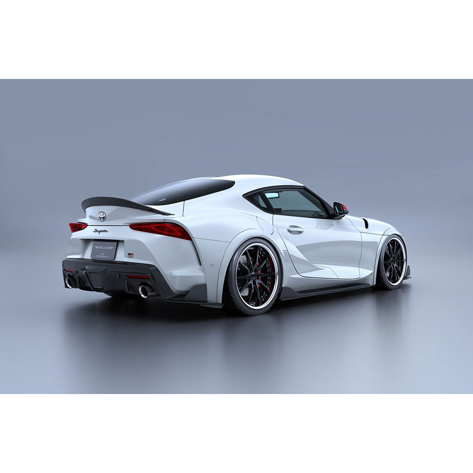 Artisan Spirits Black Label Rear Side Diffuser (FRP) - Toyota GR Supra 2020+