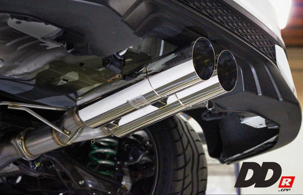 GREDDY DD-R CATBACK EXHAUST 17+ HONDA CIVIC SI COUPE