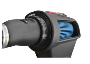 Injen® EVO1500 - Evolution Series Rotomolded Black Cold Air Intake System with Dry Blue Filter