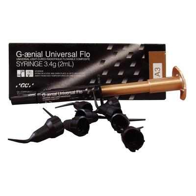 Dental Three Composite G aenial Universal Flo 2ml (3.4g) By Gc Shade A3