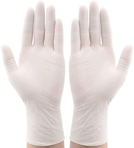 100 pcs Protective Disposable Latex Gloves, High Quality Gloves