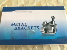 Metal Brackets - Mini Size Upper and Lower 5-5 (Case/Set Of 20 Brackets)