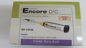 Encore D/C Automix Dual-Cure Core Buildup Material with Fluoride