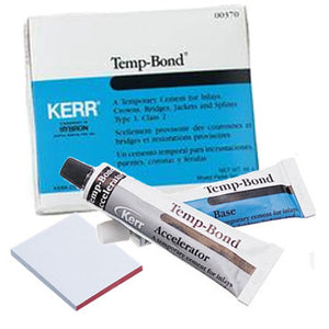 TempBond Tubes - Zinc Oxide Eugenol Temporary Cement, 1 - 50 Gm. Tube Base, 1