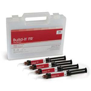 Dental Build-It FR Core Material Auto-Mix Syringe Refil Kit By Pentron