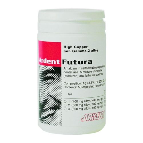 Dental Futura Amalgam Capsules 1 Spill High Copper Non Gamma-2 by ARDENT