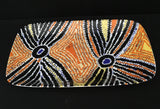 Pirlarla Jukurrpa serving plate - Oils & More By Jodie