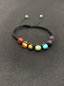 Chakra Bracelet With Adjustable Band - Oils & More By Jodie