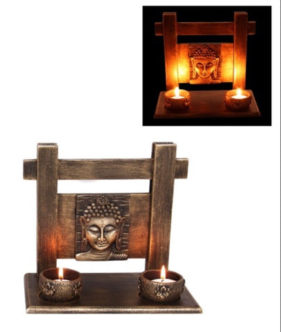 Antique look Buddha candle holders - Oils & More By Jodie