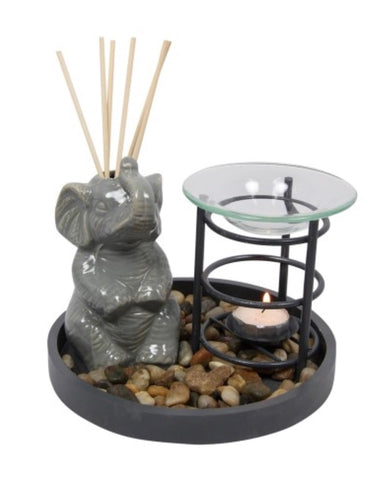 Elephant reed diffuser and oil burner - Oils & More By Jodie