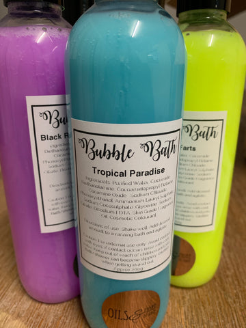 Tropical paradise bubble bath - Oils & More By Jodie