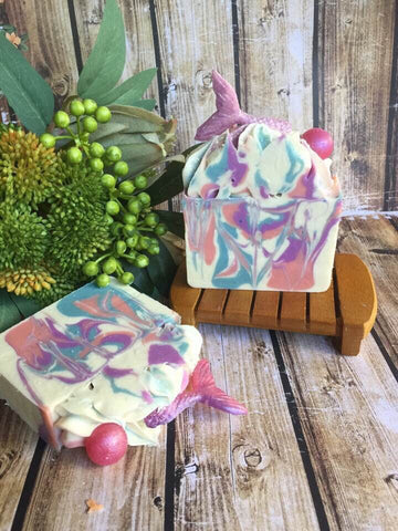 Mermaid treasure soap - Oils & More By Jodie