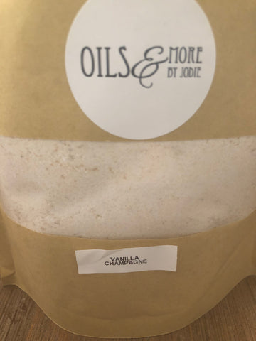 Vanilla champagne 1kg washing powder - Oils & More By Jodie