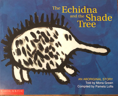 The echidna and the shade tree - Oils & More By Jodie