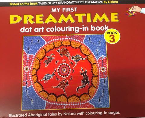 Dreamtime colouring book 3 - Oils & More By Jodie
