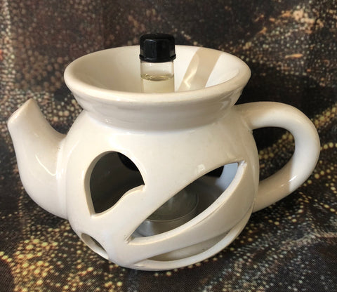 Teapot candle burner - Oils & More By Jodie