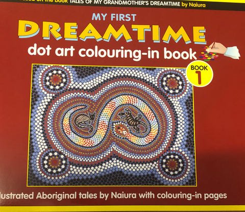 Dreamtime dot colouring book 1 - Oils & More By Jodie