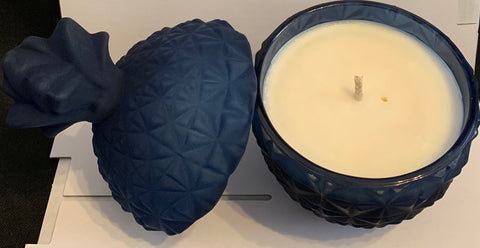 Blue pineapple candles - Oils & More By Jodie