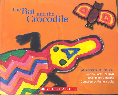 The bat and the crocodile - Oils & More By Jodie