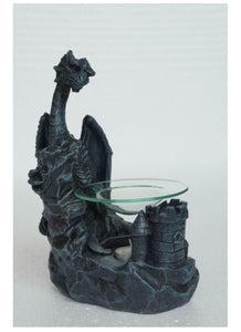 20cm tall dragon oil burner - Oils & More By Jodie
