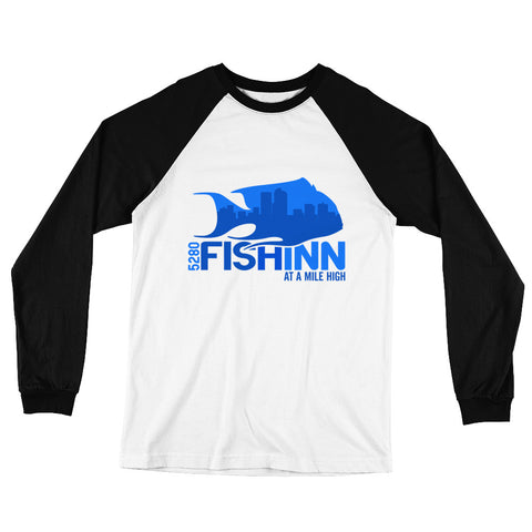 Fishinn Baseball Long Sleeve Shirt