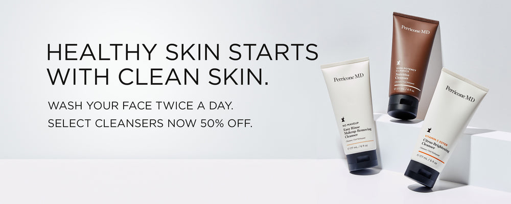 50% off select cleansers