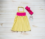 MINI BELLA (YELLOW AND PINK)