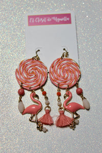 Flamingo Party Earrings