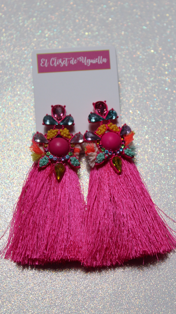 Pink Beauty Earrings