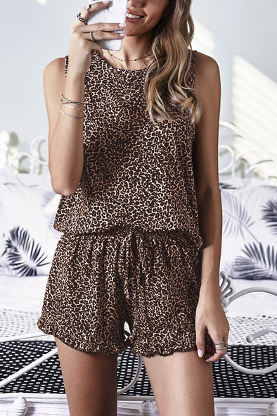 ZESICA Tank and Shorts Lounge Set