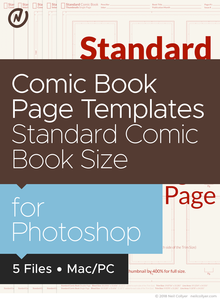 Bundle - All Comic Book Templates for Photoshop