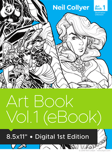 Art Book Volume 1 eBook by Neil Collyer