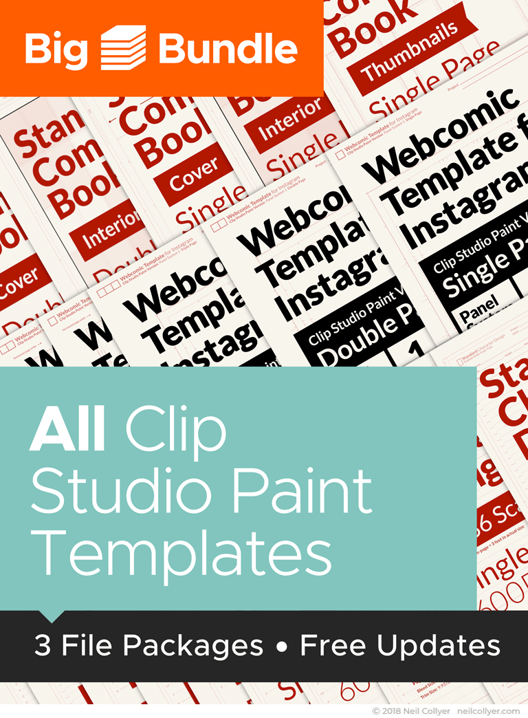 Big Bundle - All Clip Studio Paint Templates