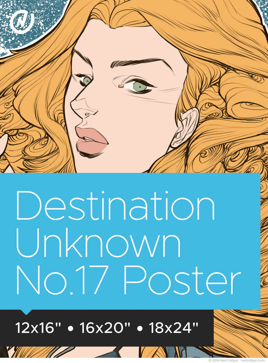 Poster - Destination Unknown No.17