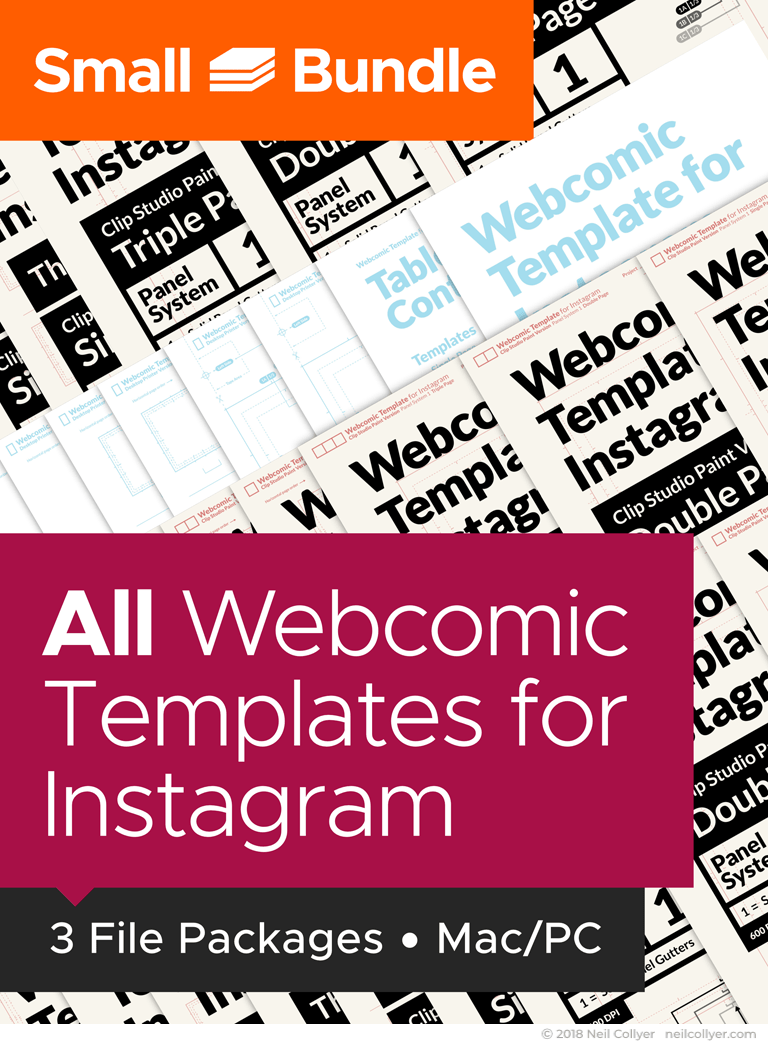 Small Bundle - All Instagram Webcomic Page Templates