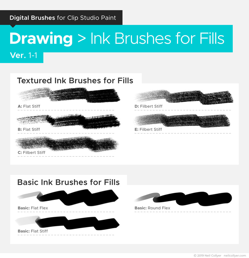 The Big Bundle of Brushes for Clip Studio Paint