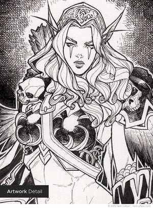 Sylvanas Windrunner - 6x9 Original Art