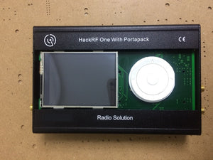 PORTAPACK FOR HACKRF ONE  SDR  Software Defined Radio with metal case