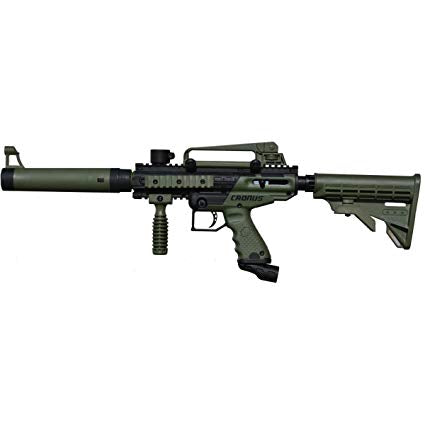 Tippmann Cronus Tactical Semi-Automatic 68 Caliber Olive Paintball Marker