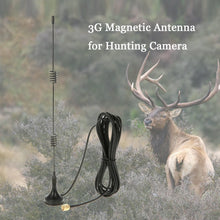 Load image into Gallery viewer, 2G GSM 3G WCDMA 1800-2200MHz Magnetic Antenna for Trail Game Scouting Wildlife Hunting Camera - Inntelly
