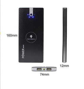 Power Bank Dual USB Powerbank Portable Mobile Phone Chargers for iPhone External Battery USB Charger