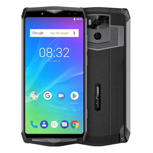 Ulefone Power 5s Mobile Phone 6-Inch 4GB+64GB 13000mAh 21MP Four-cams Android8.1 MT6763 Octa Core Face Fingerprint 4G Unlocked Smartphone