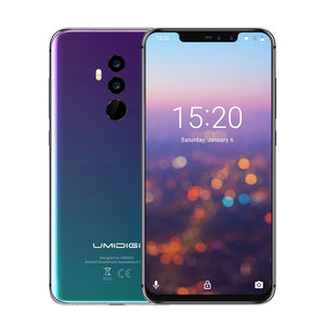 UMIDIGI Z2 Pro 4G-LTE Smartphone 6GB 128GB Helio P60 Octa Core 6.2 inch Notch Full Screen Android 8.1 16MP Quad Cameras Face ID Smart Mobile Phone