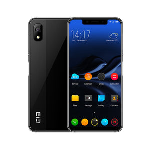 "ELEPHONE A4 4G Mobile Phone Android 8.1 Face ID Fingerprint Unlock 5.85"" 720*1512P HD+ 18:9 Display Notch Screen 13MP+5MP 3000mAh MTK6739 Quad-core BT4.2 - Inntelly"