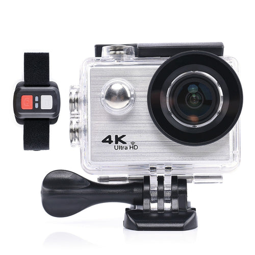 F71R Action Camera Digital 4K WiFi 1080P HD Sports DV 30M Waterproof Diving Wide Angle Lens - Inntelly